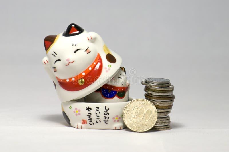 иены котов японские удачливейшие стоковое изображение rf