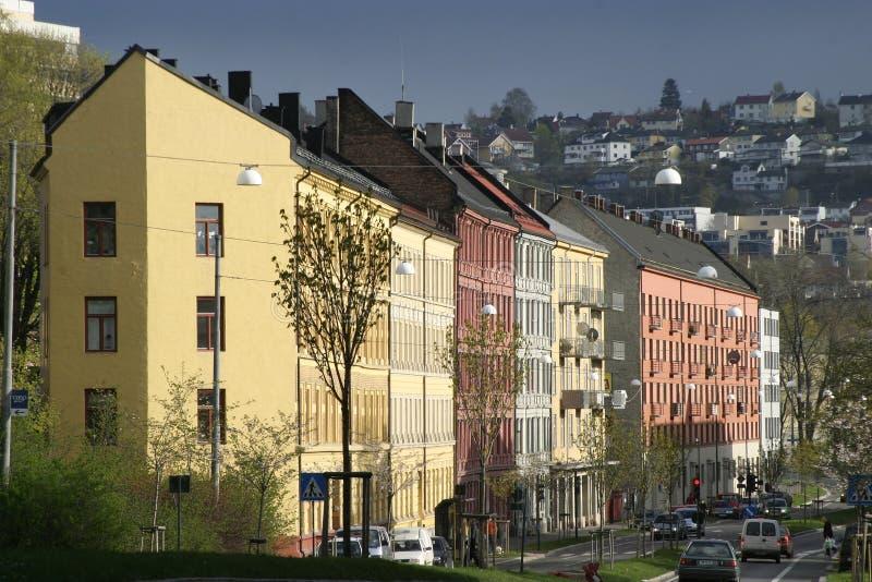 иены Норвегии Осло t стоковые фото