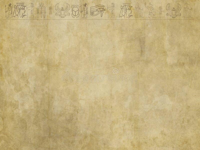 Иероглифический фон Египта стоковое изображение rf