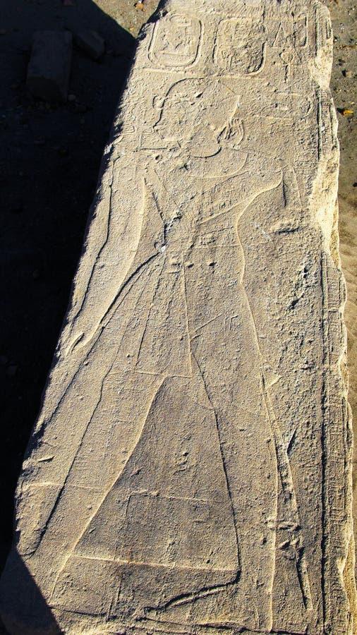 Иероглиф на руинах крепости на острове Sai, Ниле, Судане стоковое изображение rf