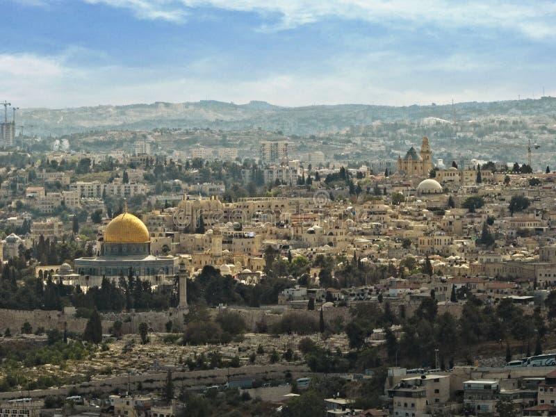 Иерусалим Израиль Temple Mount Ближний Восток стоковые фото