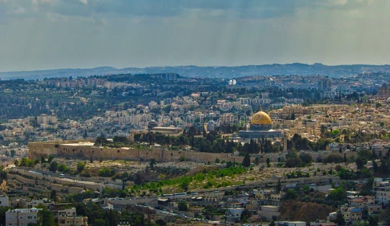 Иерусалим Израиль Temple Mount Ближний Восток стоковая фотография rf