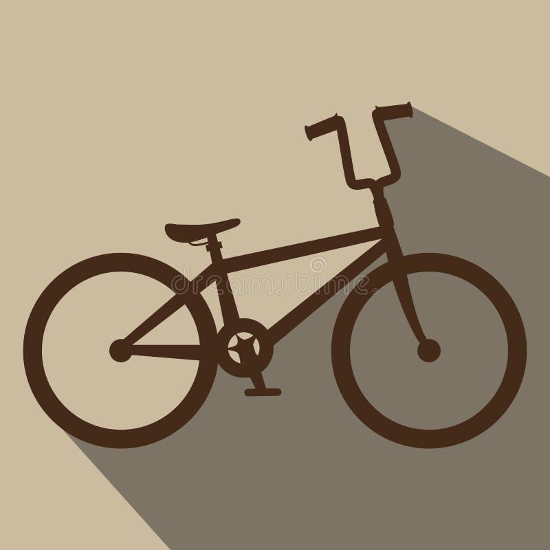 дизайн велосипеда езды иллюстрация вектора