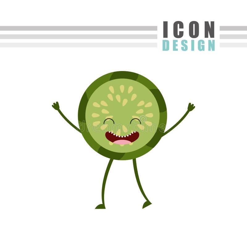 дизайн еды характера бесплатная иллюстрация