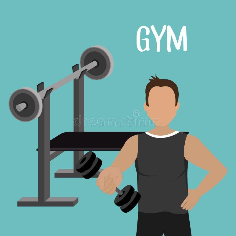 дизайн фитнеса спорт бесплатная иллюстрация