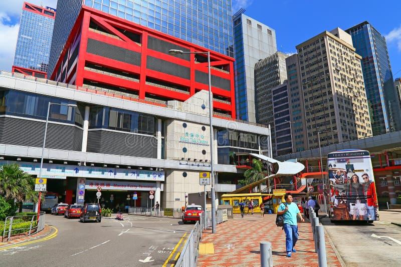 Избегите паромный терминал Макао центра tak стоковая фотография
