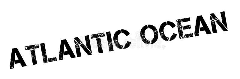 Избитая фраза Атлантического океана иллюстрация штока