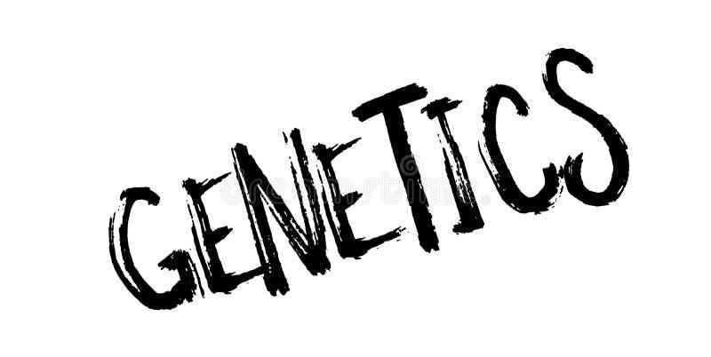 Избитая фраза генетики иллюстрация вектора