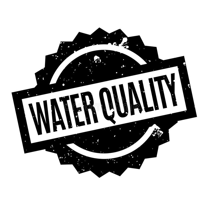Избитая фраза качества воды иллюстрация вектора