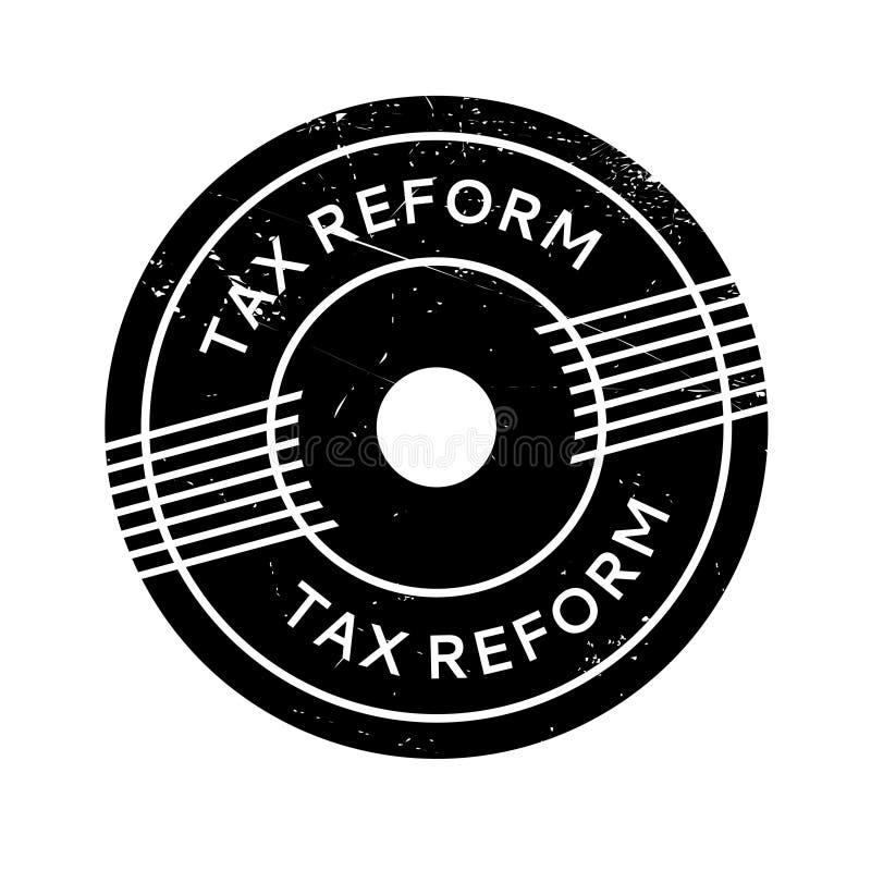Избитая фраза налоговой реформы иллюстрация вектора