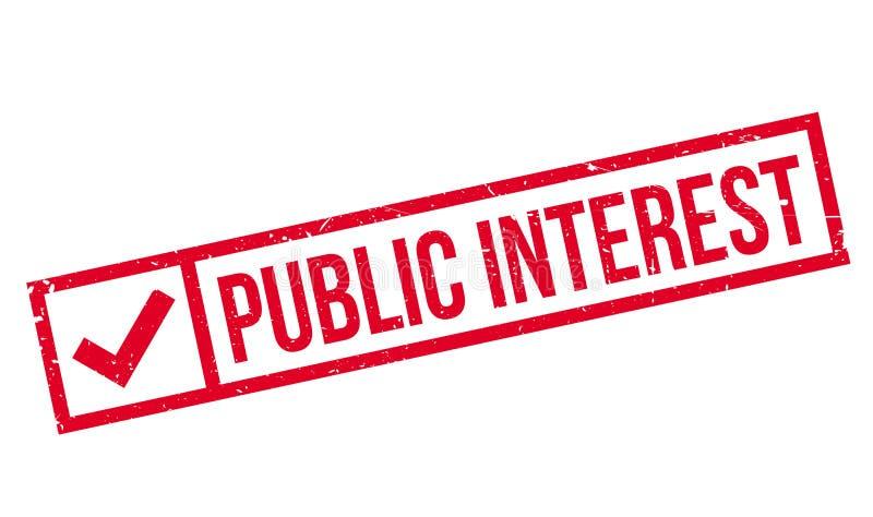 Избитая фраза общественного интереса бесплатная иллюстрация