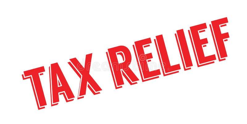 Избитая фраза освобождения от уплаты налога иллюстрация вектора