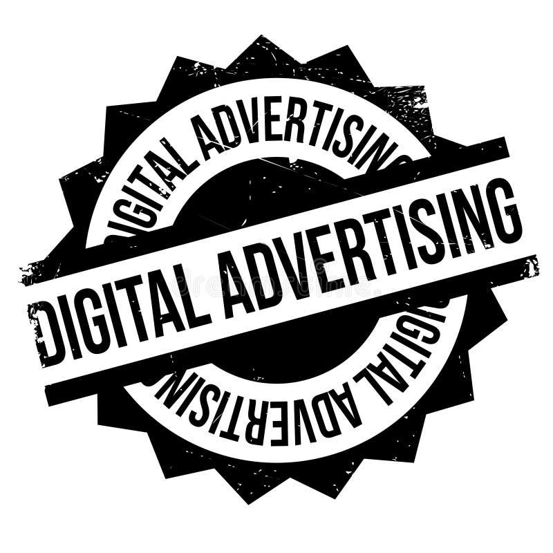 Избитая фраза рекламы цифров иллюстрация вектора