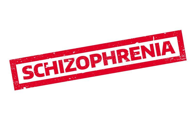 Избитая фраза шизофрении иллюстрация вектора