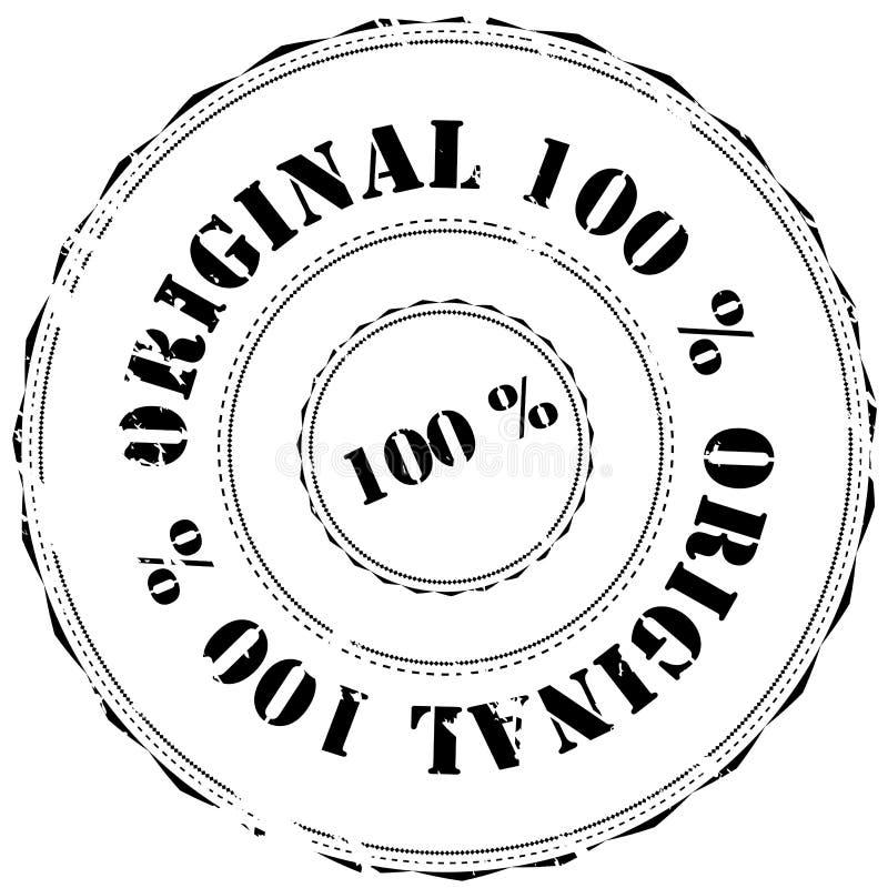избитая фраза 100 оригиналов иллюстрация вектора