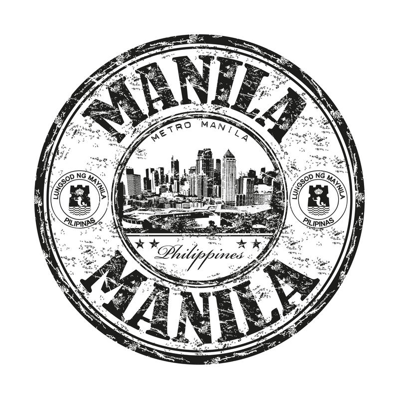 Избитая фраза grunge Манила иллюстрация штока