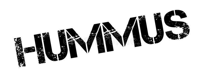 Избитая фраза Hummus иллюстрация штока