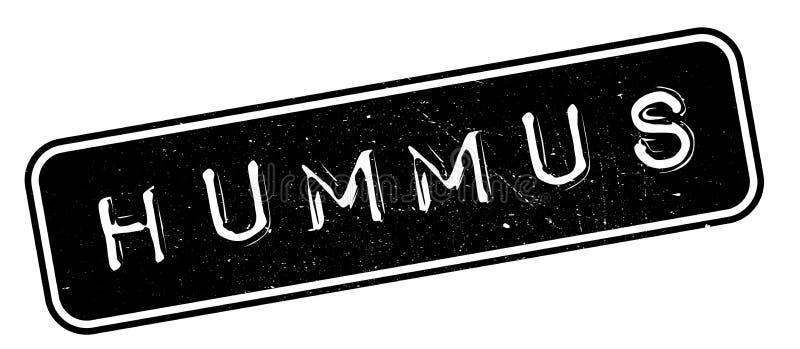 Избитая фраза Hummus иллюстрация вектора