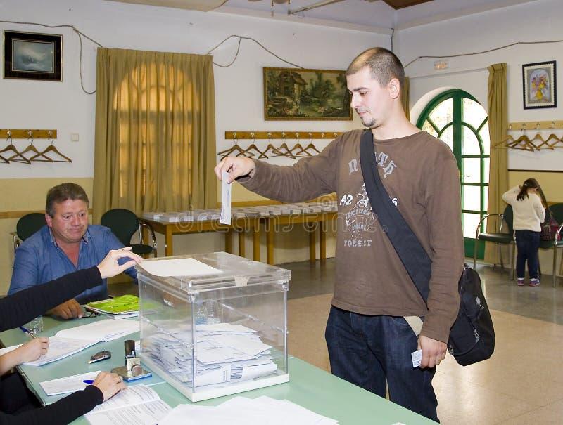 Избрание в Испании стоковая фотография rf