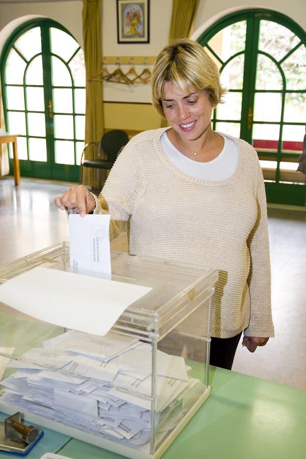 Избрание в Испании стоковые фото