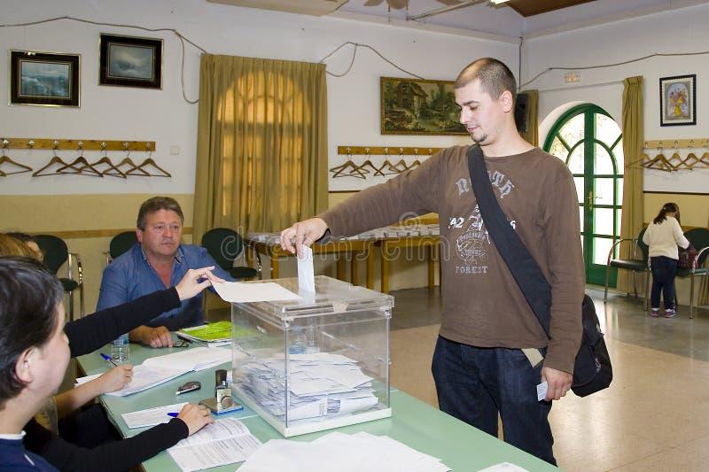 Избрание в Каталонии стоковое изображение rf