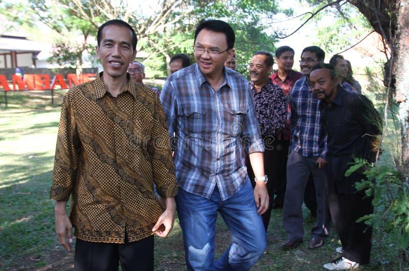 Избрание губернатора Джакарты стоковые фото