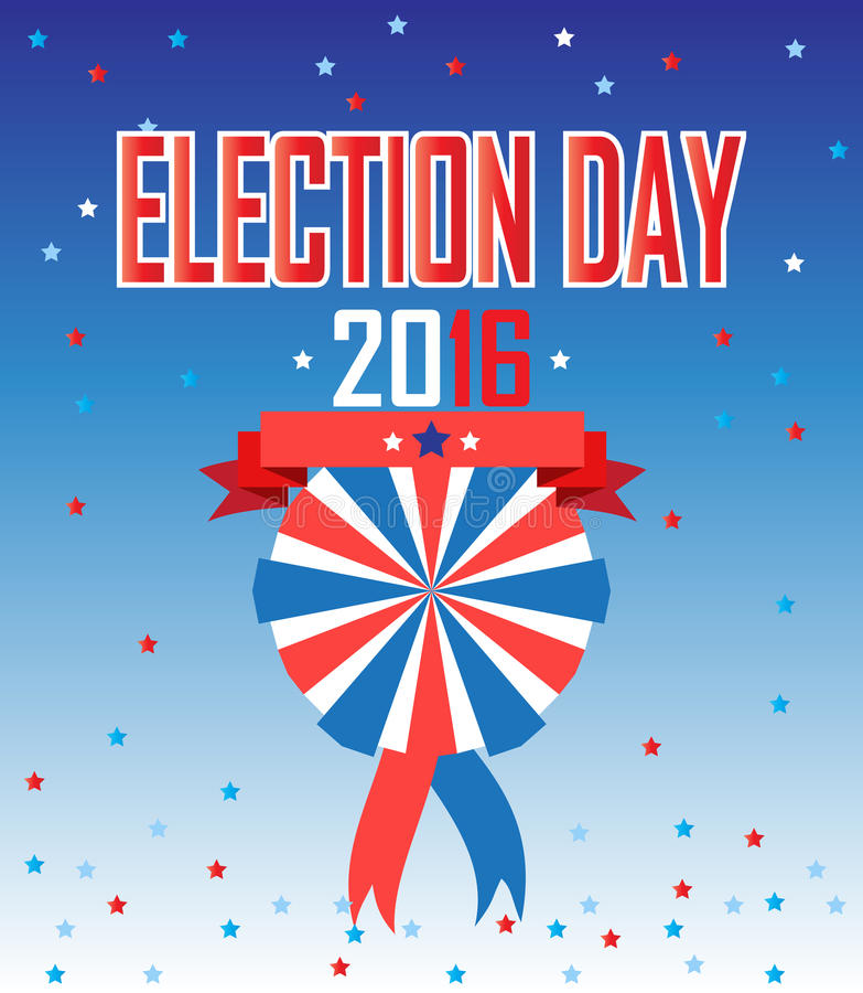 Избрание 2016 бесплатная иллюстрация