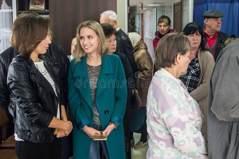 Избрания к Государственной Думе Российской Федерации 18-ое сентября 2016 в зоне Kaluga стоковые фотографии rf
