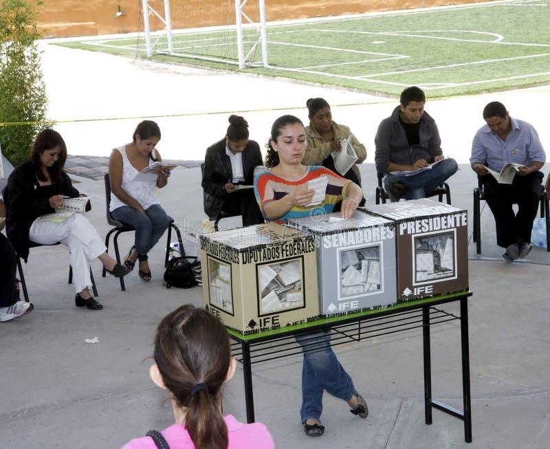 избрания Мексика стоковое фото rf