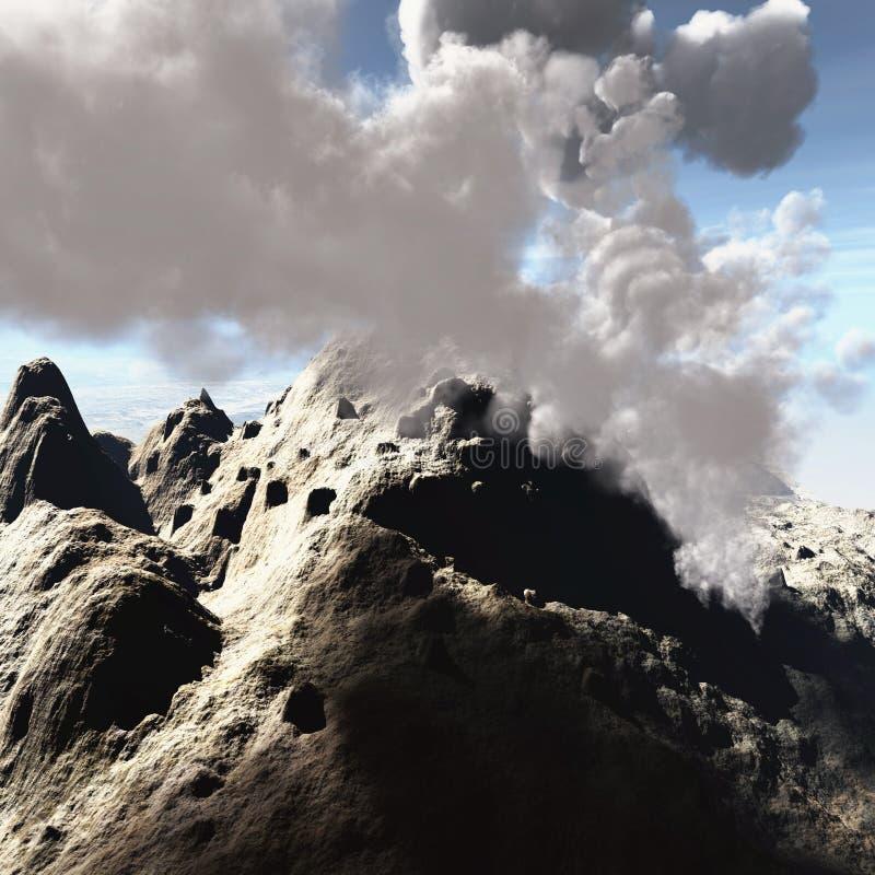 извержение вулканическое бесплатная иллюстрация