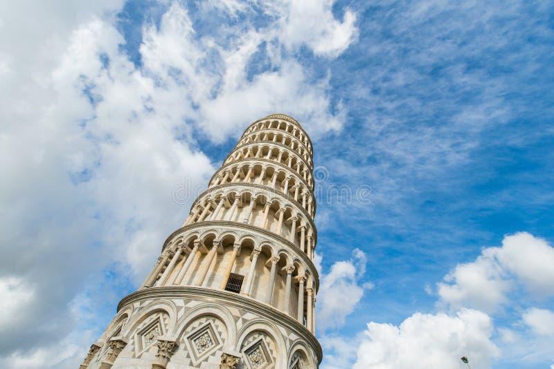 Известная башня склонности ПИЗЫ стоковые фото