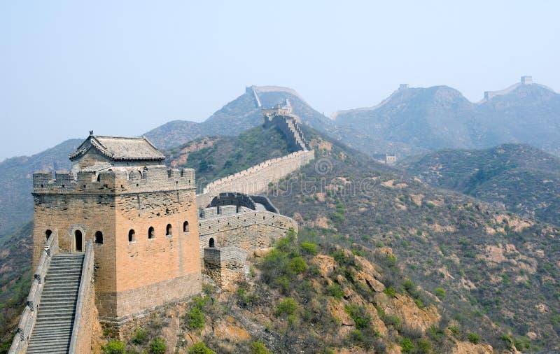 известная большая стена башни simatai стоковое фото