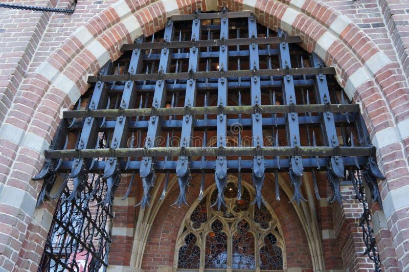 Известная деталь замка De Haar стоковые фото