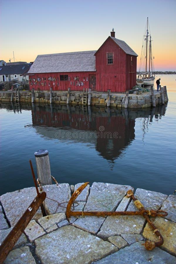 известная лачуга рыболовства стоковое фото rf