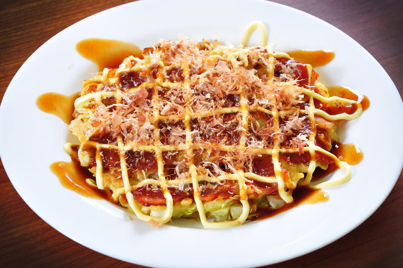 Okonomiyaki стоковые изображения