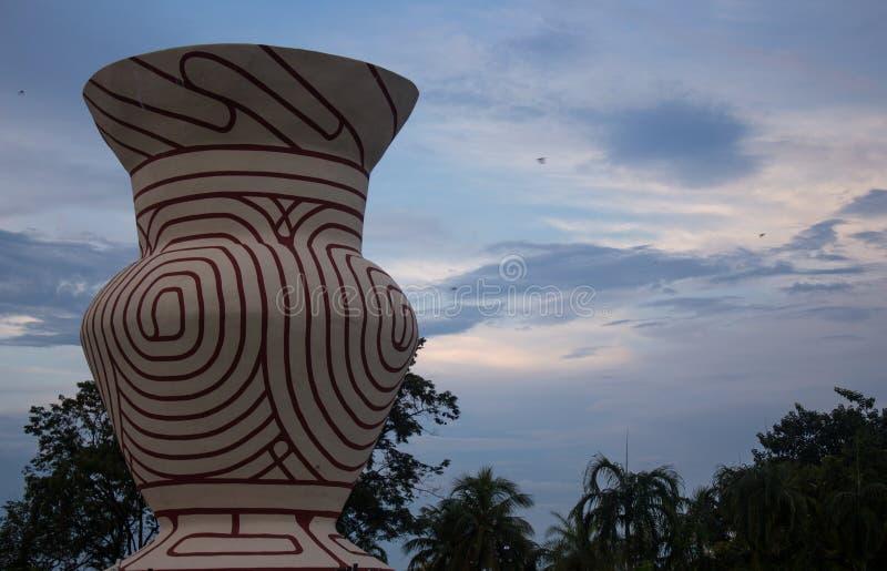Известное большое старое агашко, запрет Chiang парка Nong Prajak, стоковые фотографии rf