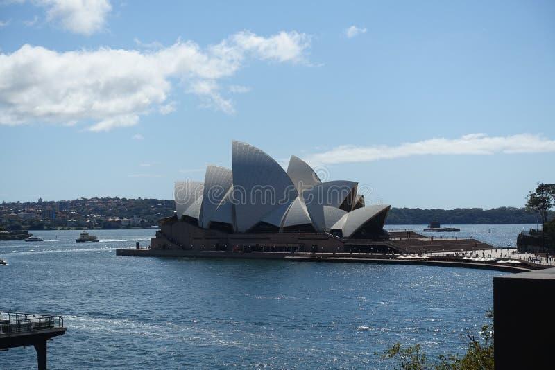 Оперный театр Сиднея стоковые фотографии rf