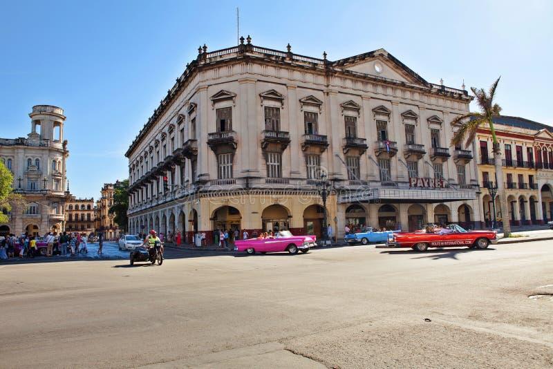 Известное здание Payret в Гаване, Кубе стоковые изображения rf
