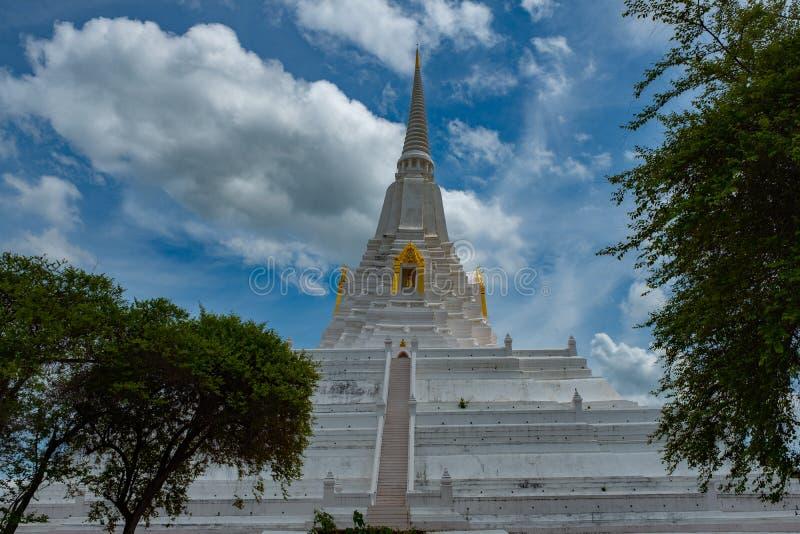 Известное место в Таиланде & x28; Ремень khao Chedi Phu стоковое фото