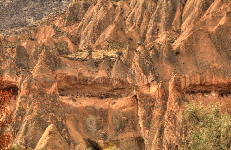 Известный город Cappadocia в Турции стоковая фотография
