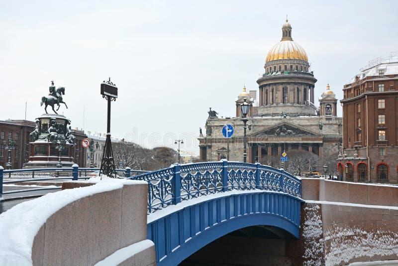 Известный голубой мост стоковая фотография rf
