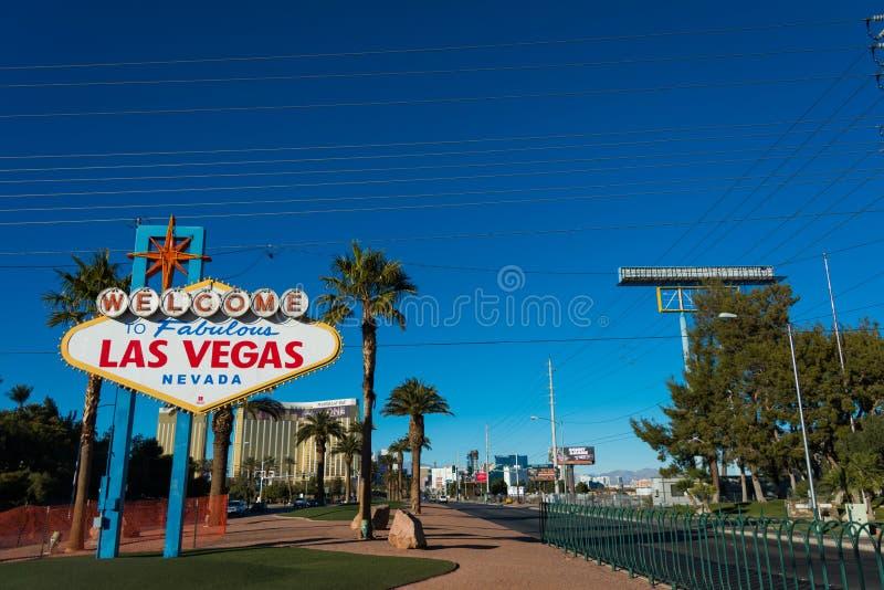 Известный знак Лас-Вегас стоковая фотография