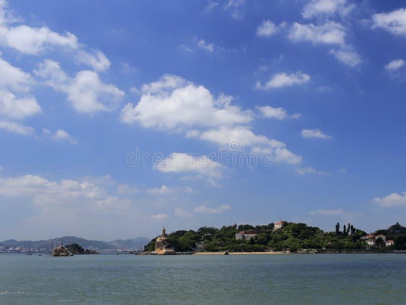 Известный островок gulangyu стоковые изображения rf