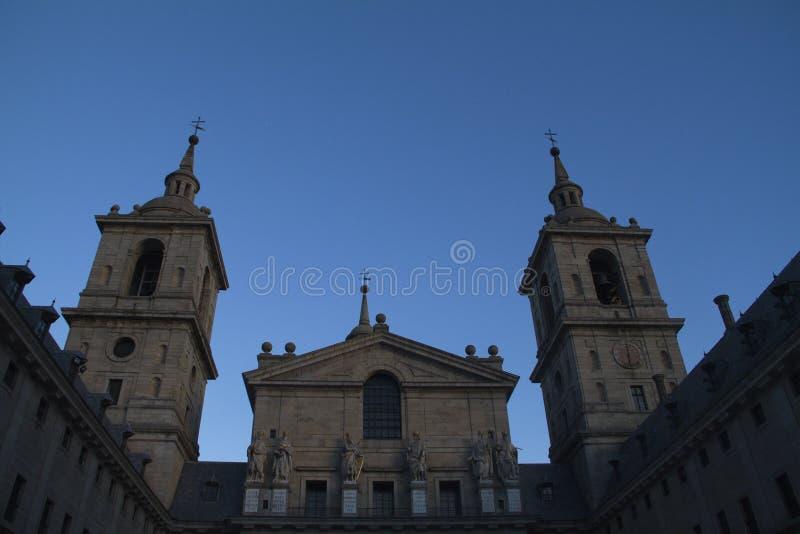 Известный собор в Escorial. стоковые фотографии rf