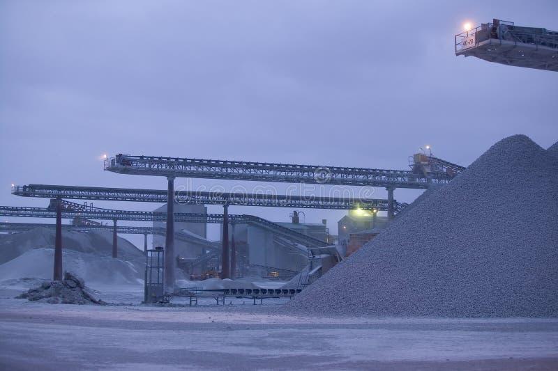 Известняк quarry.JH стоковые изображения