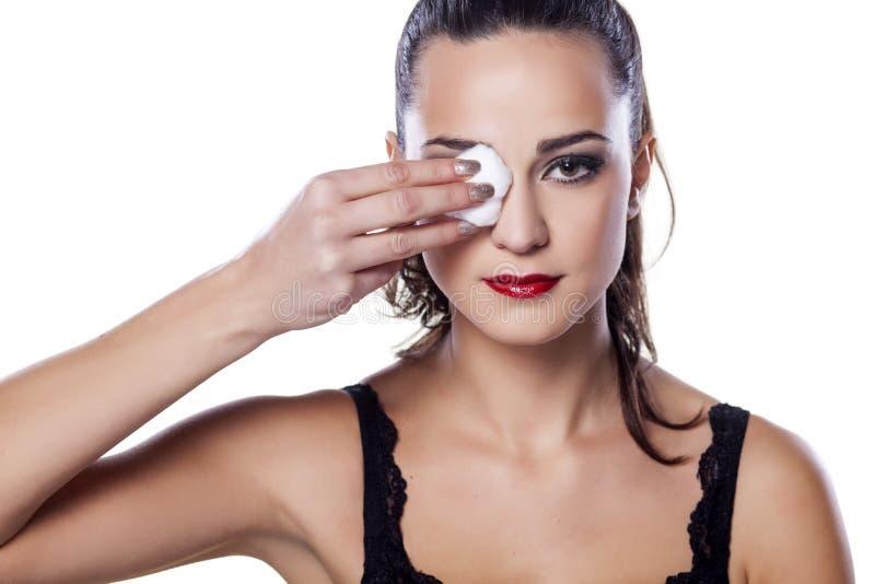 Извлекать Make up стоковые фото