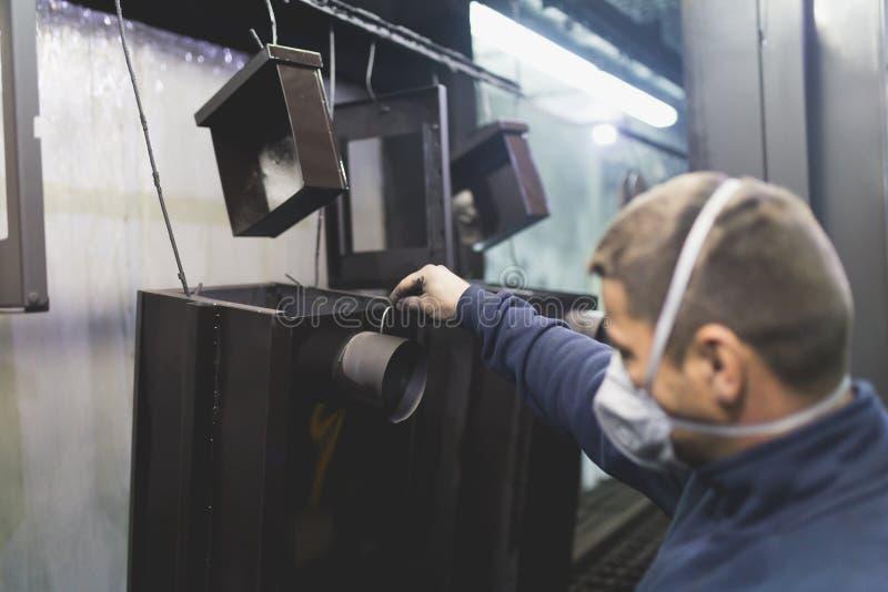 Изготовление тяжелой индустрии стоковое фото rf