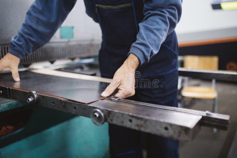 Изготовление тяжелой индустрии стоковое фото