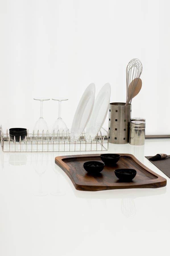 изделия кухни просто стоковое изображение rf