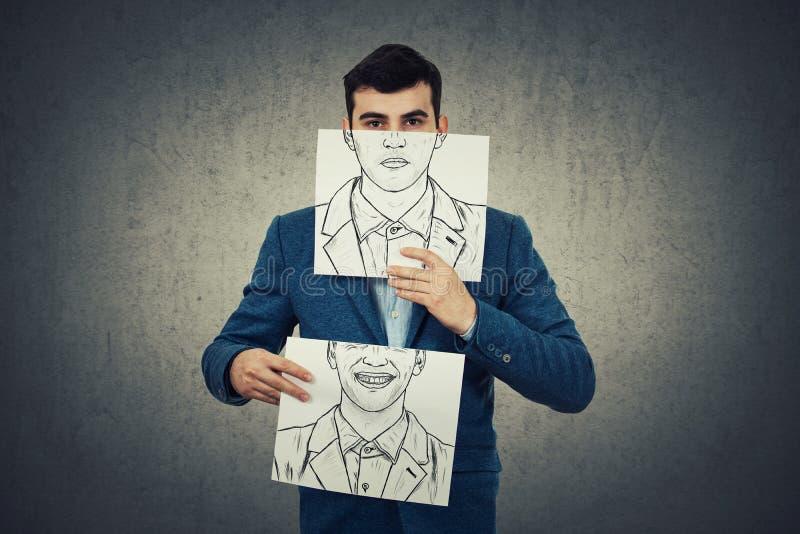 Измените вашу эмоцию стоковые фотографии rf